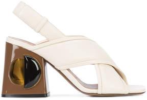 Marni Runway sculptural shoes
