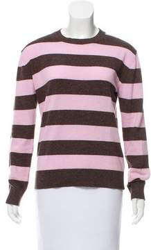AG Jeans Alexa Chung x Striped Wool Sweater