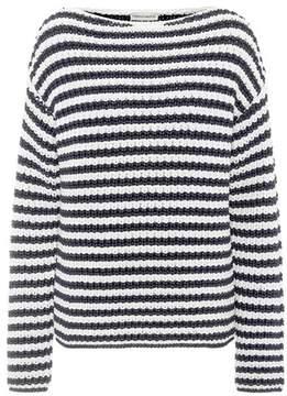 Mansur Gavriel Striped cotton-blend sweater
