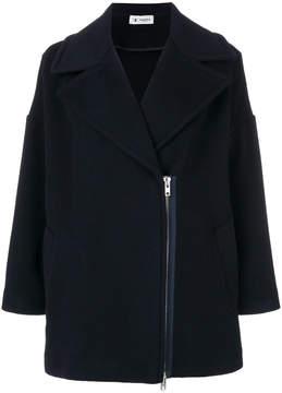 Barena exposed zip coat