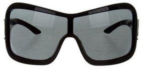 Miu Miu Oversize Shield Sunglasses