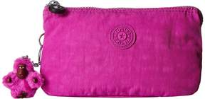 Kipling Creativity Large Pouch Clutch Handbags - VERY BERRY - STYLE