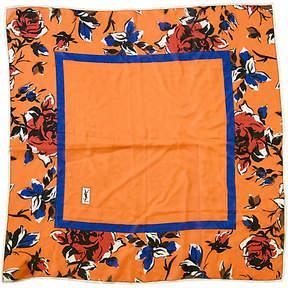 One Kings Lane Vintage YSL Silk Chiffon Scarf - Jacki Mallick Designs