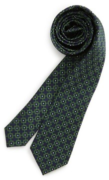 Nordstrom Boy's Medallion Silk Tie