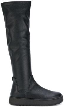 Twin-Set knee length platform boots