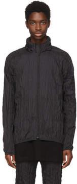 Issey Miyake Black Ruched Jacket
