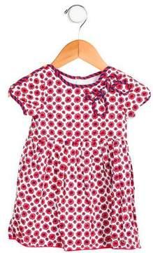 Little Marc Jacobs Girls' Floral Print Dress