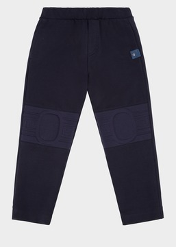 Versace Embossed Knee Sweatpants