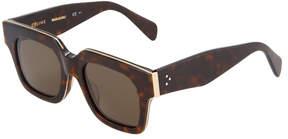 Celine Oversized Square Plastic Sunglasses