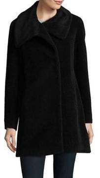 Cinzia Rocca Icons Petite Oversize Wool-Blend Coat