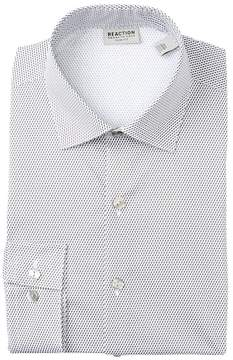 Kenneth Cole Reaction Seagull Print Slim Fit Dress Shirt
