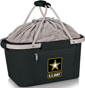PICNIC TIME Picnic Time U.S. Army Metro Basket Collapsible Tote