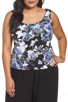 Alex Evenings Floral Twinset (Plus Size)