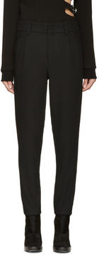 Anthony Vaccarello Black Classic Trousers