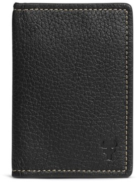 Trask Men's 'Jackson' Folding Card Case - Black