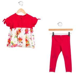 Catimini Girls' Floral Two-Piece Set w/ Tags