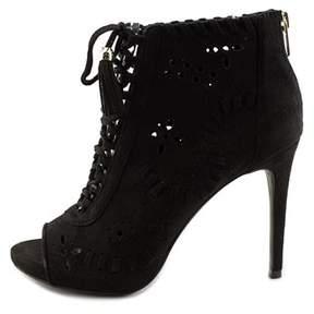 Zigi Womens Artemis Peep Toe Ankle Fashion Boots Fashion Boots.