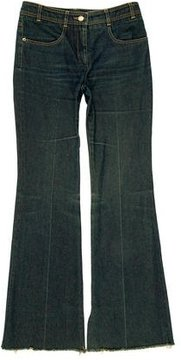 Chloé Flared Mid-Rise Jeans