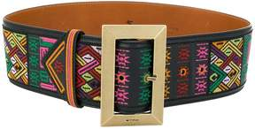 Etro mixed print belt