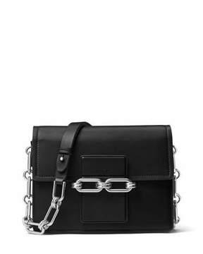 Michael Kors Cate Medium Chain Shoulder Bag, Black - BLACK - STYLE