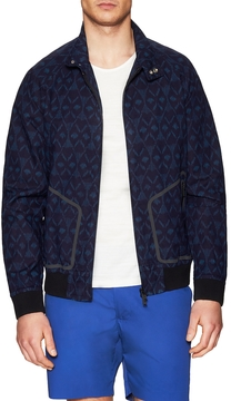 Marc by Marc Jacobs Men's Zip Up Printed Golf Jacket