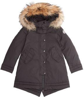 Moncler Yolande Fur Hood Coat