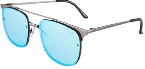 Quay Private Eyes Square Plastic Sunglasses