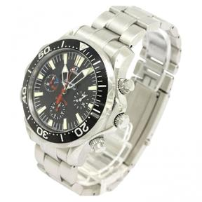 Omega Seamaster pink gold watch