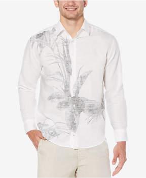 Cubavera Men's Engineered Reverse Print Shirt