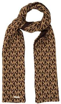 MICHAEL Michael Kors Logo Wool Scarf