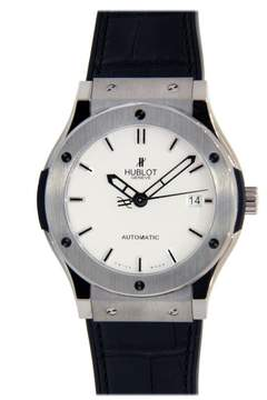 Hublot Classic Fusion Stainless Steel with Leather Strap 42mm