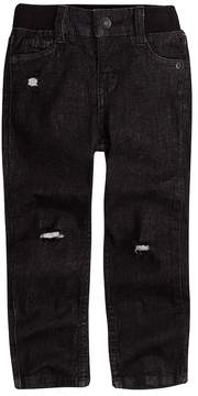 Levi's Toddler Boy My First Skinny Distressed Black Jeans