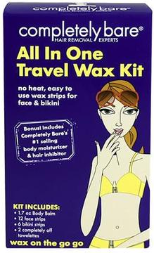 Completely Bare wax on the go go Travel Wax Kit