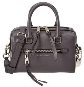 Marc Jacobs Recruit Small Bauletto Leather Satchel. - GREY - STYLE