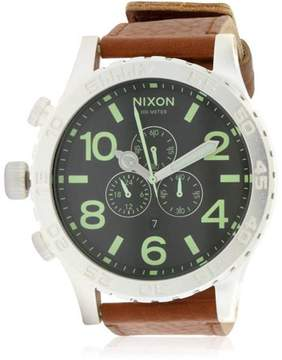 Nixon Leather Men's Watch, A1241037-00