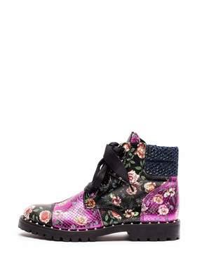 Zadig & Voltaire Joe Low Patch Boots
