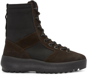 Yeezy Brown Military Boots