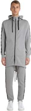 Virtus Palestre Logo Bands Zip-Up Cotton Sweatshirt