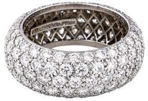Platinum Diamond Etoile Eternity Ring