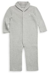 Ralph Lauren Baby's French-Rib Cotton Coverall