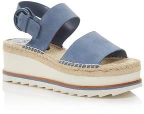 Marc Fisher Women's Greely Suede Espadrille Wedge Platform Sandals - 100% Exclusive