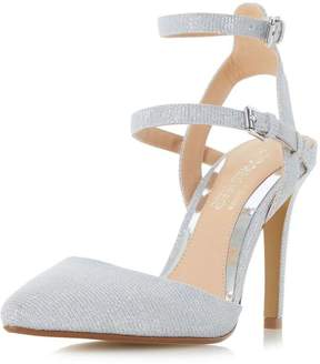 Head Over Heels *Head Over Heels by Dune Silver 'Cadi' High Heel Sandals