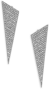 Adriana Orsini Women's Geometric Crystal Drop Earrings