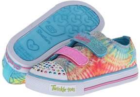 Skechers Peace N' Love 10383N Lights Girl's Shoes