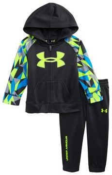 Under Armour Infant Boy's Big Logo Hoodie & Sweatpants Set