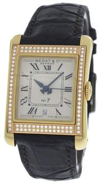Bedat & Co No 7 728 18K Yellow Gold Diamonds Automatic 25mm Womens Watch