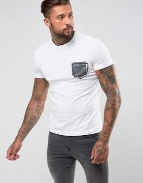 Replay Camo Pocket T-Shirt