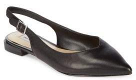 Saks Fifth Avenue Esmond Leather Slingbacks
