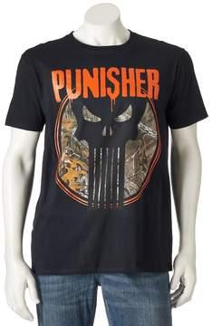 Marvel Men's The Punisher Realtree Tee