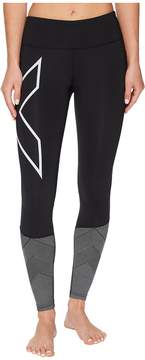 2XU Mid-Rise Reflect Compression Tights Women's Workout
